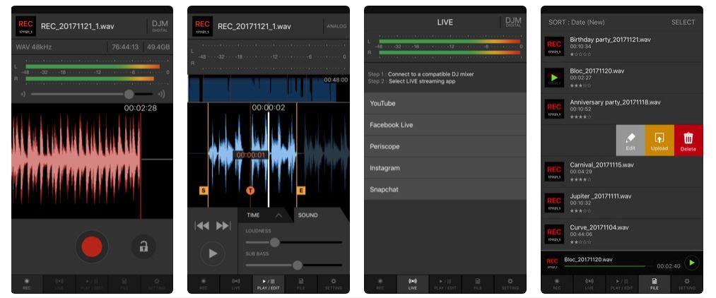 djm-rec-screenshots